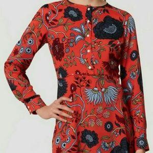LOFT Red Primavera Shirt Dress 2P